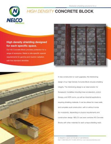 High Density Concrete Block