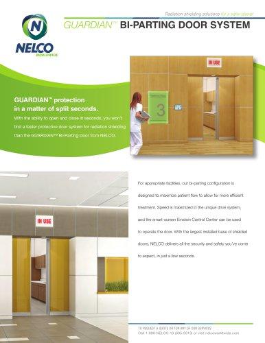 Radiation Shielding Bi-Parting Slide Door