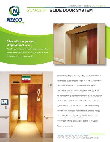 Radiation Shielding Slide Door