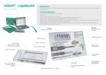 Initial F™ - Lapidus kit - 7