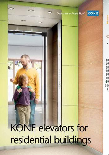 KONE elevators for residential buildings - KONE - PDF