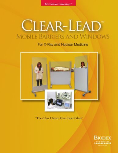 Brochure, Clear-Lead? Mobile Barriers and Windows