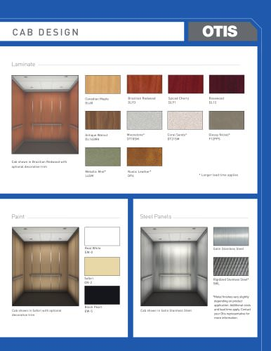 Cab Design Brochure Doors & Entrances