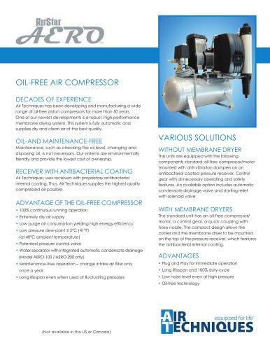 AirStar AERO Oil-Free Compressor