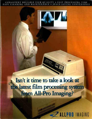 ALLPRO 2010 Film Processor Podiatry