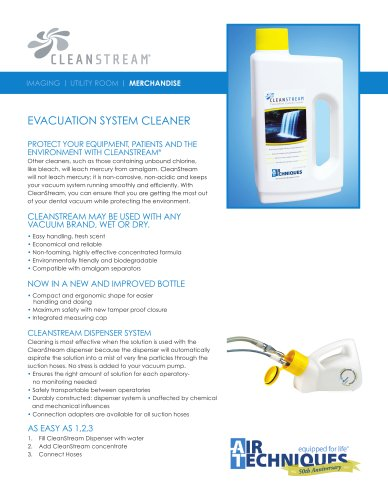 CleanStream Sell Sheet