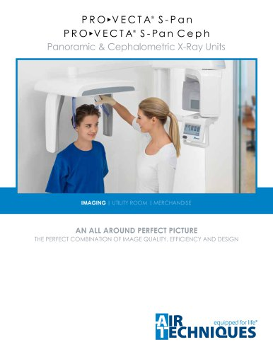 ProVecta S-Pan Panoramic & Cephalometric X-Ray Units