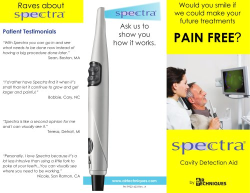 Spectra Patient Education Brochure