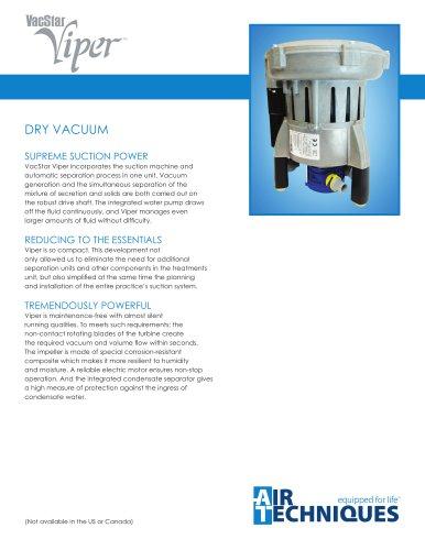 VacStar Viper Dry Vacuum System