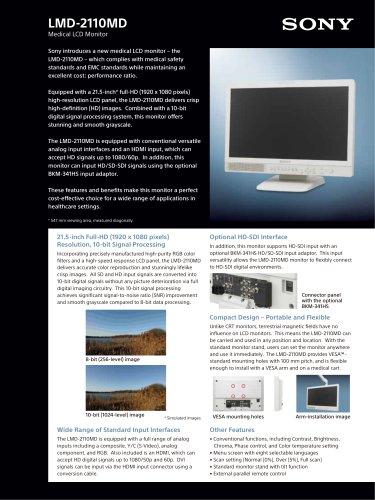 LMD-2110MD Brochure