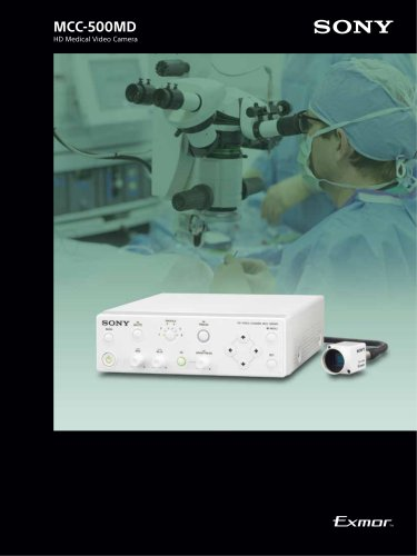 MCC-500MD Brochure