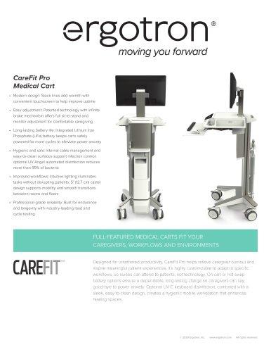 CareFit Pro Medical Cart