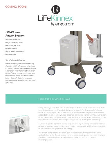 LifeKinnex Power System