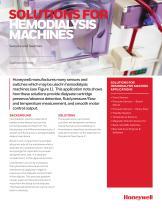 Honeywell Sensing - Medical Solutions for Hemodialysis Machines
