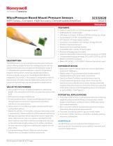 MicroPressure Board Mount Pressure Sensors - MPR Series - 1