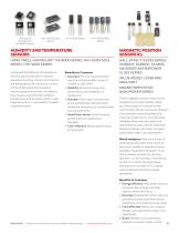 Solutions for Medical Applications. Sensors and Switches - 11