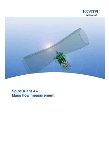 SpiroQuant A+ Mass flow measurement