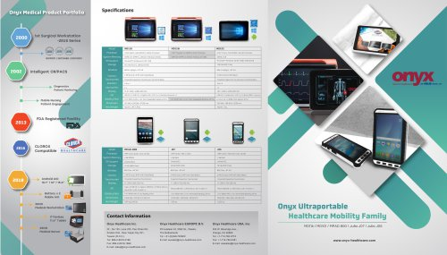 Mobile Medical Tablet Brochure
