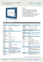 "08"" Rugged Panel PC | TR-2920-08 - 1"