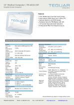 "15"" Medical Computer   TM-4010-15P"