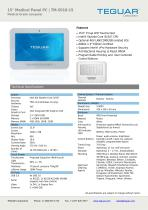 "15"" Medical Panel PC   TM-5010-15"