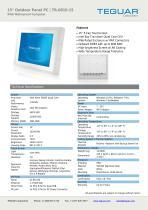 "15"" Outdoor Panel PC | TR-0810-15 - 1"