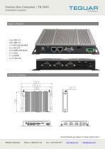 Fanless Box Computer | TB-2945 - 2