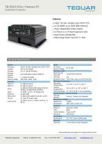 TB-5545-PCIe | Fanless PC - 1