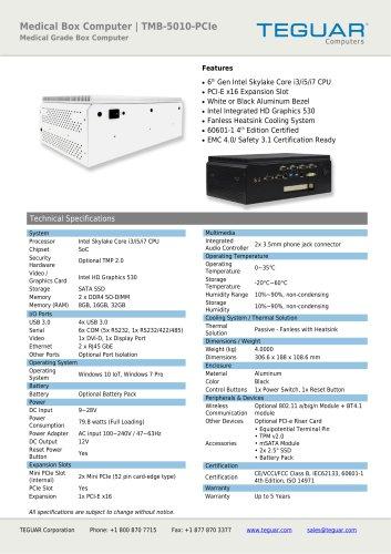TMB-5010-PCIe