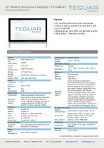 TP-5040-32 Medical All-in-one Computer - 1