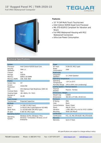 TWR-2920-15