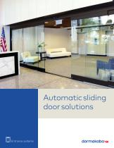 ESA Series and MAGNEO automatic sliding door solutions