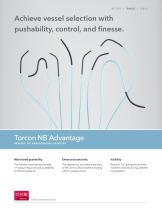 Achieve vessel selection with pushability, control, and finesse. Torcon NB® Advantage - 1