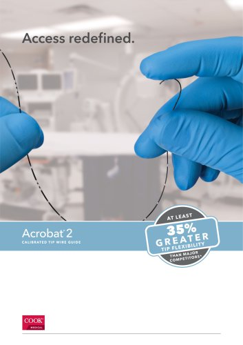 Acrobat® 2 Calibrated Tip Wire Guide