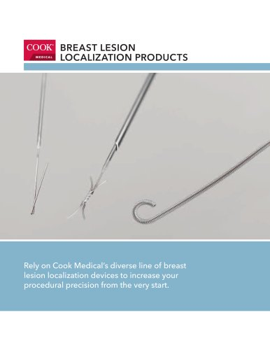 Breast Lesion Localization Products