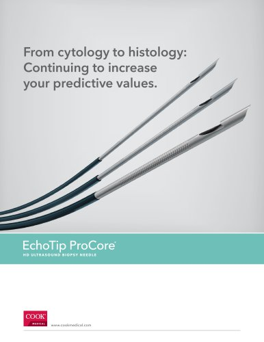 EchoTip ProCore HD Ultrasound Biopsy Needle
