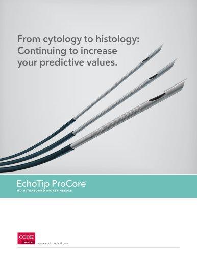 EchoTip ProCore HD Ultrasound Biopsy Needle