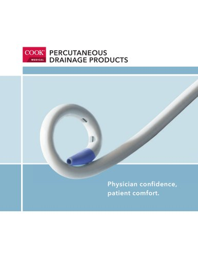 PERCUTANEOUS DRAINAGE PRODUCTS