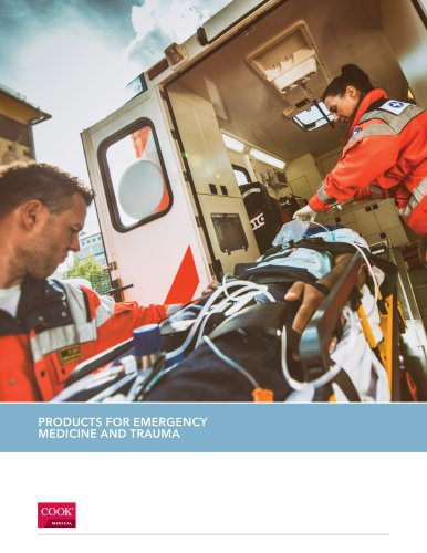 PRODUCTS FOR EMERGENCY MEDICINE AND TRAUMA