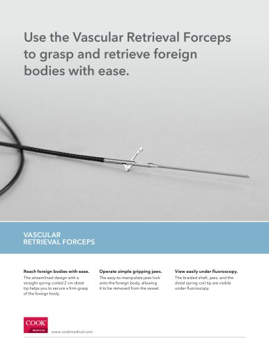 the Vascular Retrieval Forceps