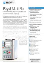 Rigel Multi-Flo Datasheet