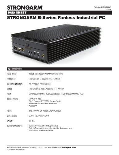 STRONGARM B-Series Fanless PC
