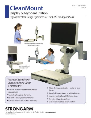 STRONGARM CleanMount for Point-of-Care Applications