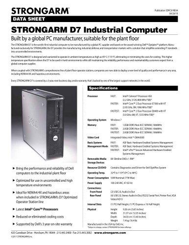 STRONGARM D7 PC