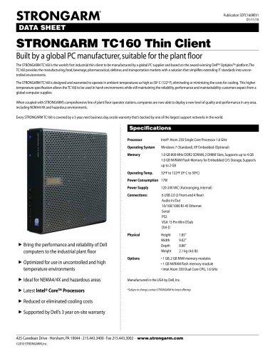 STRONGARM TC160