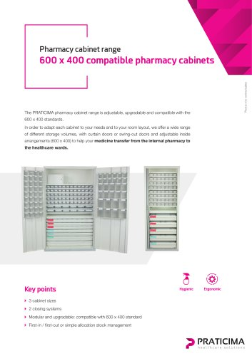 600 x 400 compatible pharmacy cabinets
