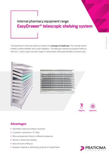 EasyDrawer shelving