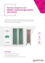 Modulo® classic storage cabinets and columns