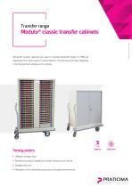 Modulo Classic transfer cabinets