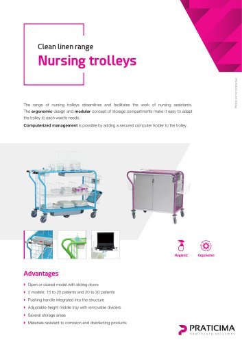 Nursing trolleys